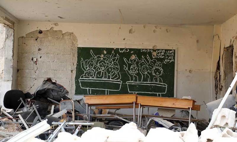 مقاتلون من فتح الشام في ريف حمص الشمالي