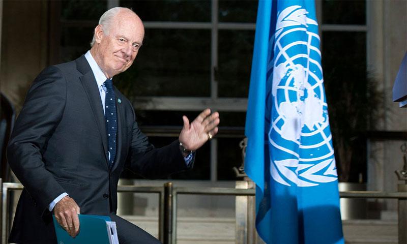 المبعوث الأممي إلى سوريا، ستيفان دي ميستورا (أرشيفية - الامم المتحدة)