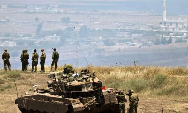 قوة عسكرية اسرائيلي في الجولان السوري المحتل (انترنت)