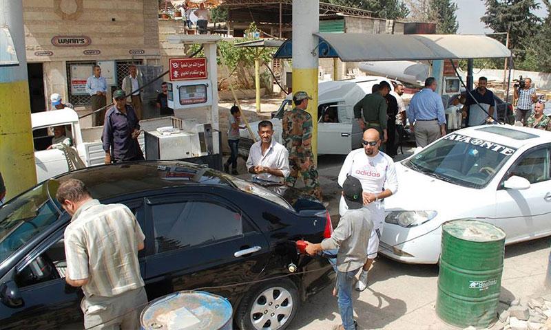محطة النواعير في حماة - كانون الأول 2015 (إنترنت)