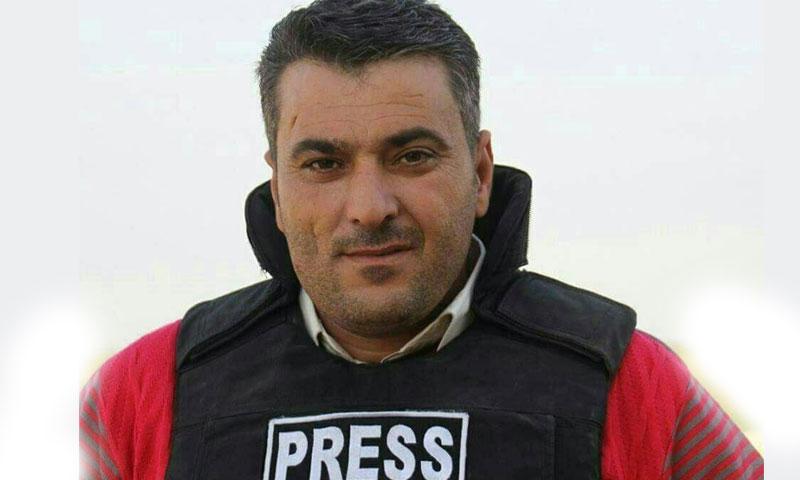 الناشط الإعلامي إبراهيم العمر (ناشطون)