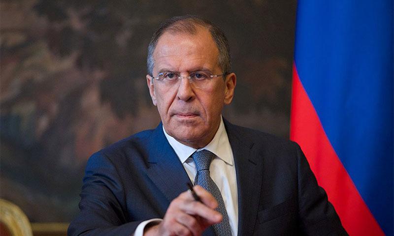 وزير الخارجية الروسي، سيرغي لافروف (إنترنت)