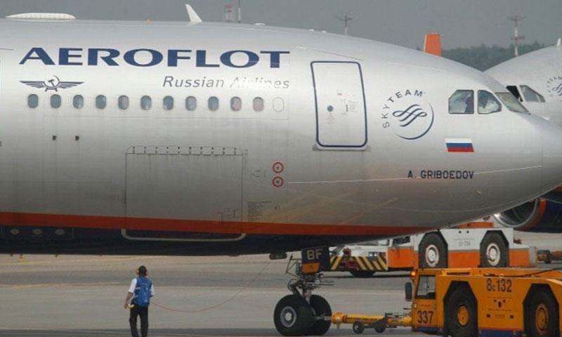 """طائرة """"آيرفلوت"""" الروسية (رويترز)"""