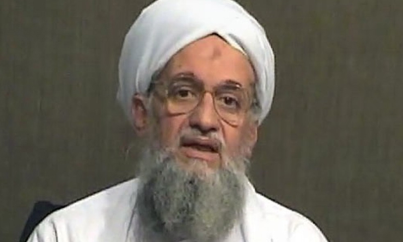 زعيم تنظيم القاعدة ايمن الظواهري ( انترنت)