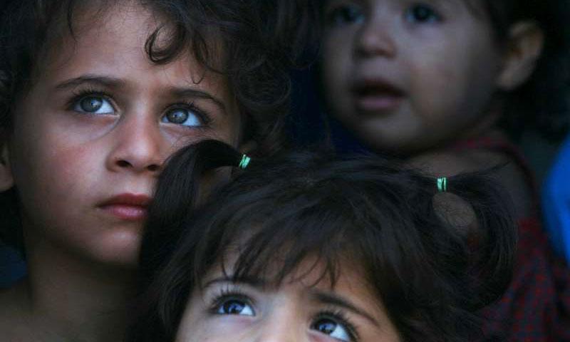 تعبيرية: أطفال سوريون لاجئون (إنترنت)