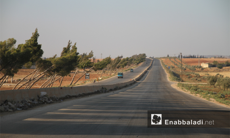 طريق دمشق- حلب الدولي - حزيران 2016 (عنب بلدي)
