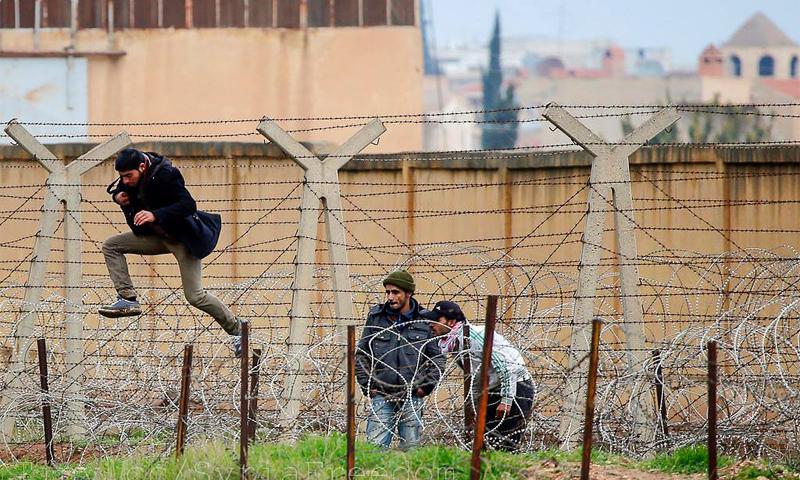 دخول سوريين إلى الأراضي التركية بطريقة غير مشروعة (وكالات تركية)