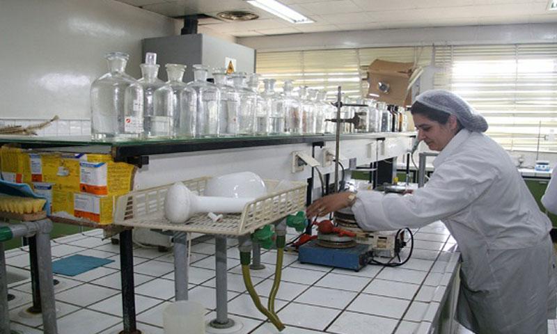 """أرشيفية- معمل """"تاميكو"""" للصناعات الدوائية في ريف دمشق"""