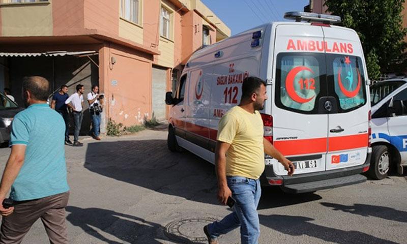مكان التفجير في مدينة الريحانية - 6 تموز (وسائل إعلام تركية)