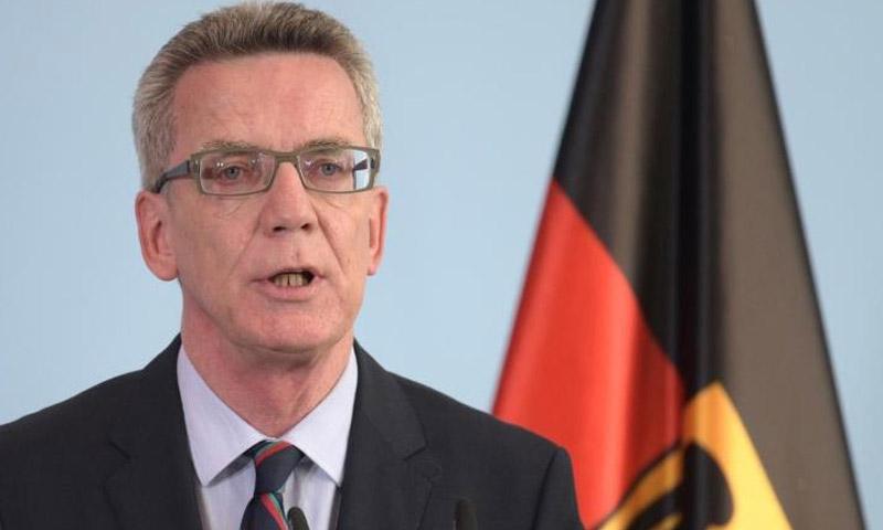 وزير الداخلية الألماني، توماس دي ميزيار