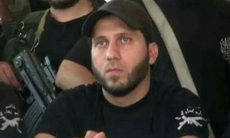 """ياسين نجار قائد كتائب """"أبو عمارة"""" في حلب"""