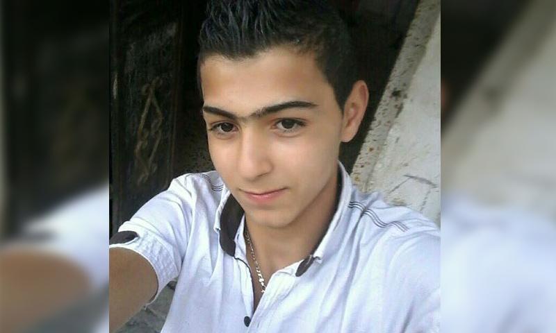 خضر عبود 17 عامًا- قتل في حلب