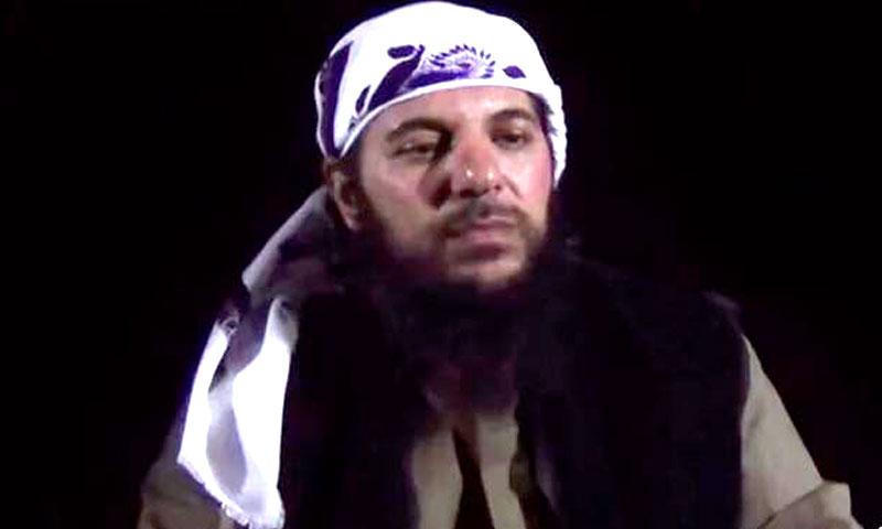 """جمال زينية (أبو مالك التلي)- أمير """"جبهة النصرة"""" في القلمون (يوتيوب)"""