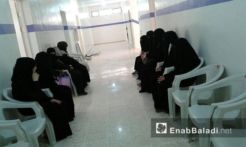 مشفى بنفسج للأمومة في أريحا بريف إدلب - الجمعة 15 تموز (عنب بلدي).