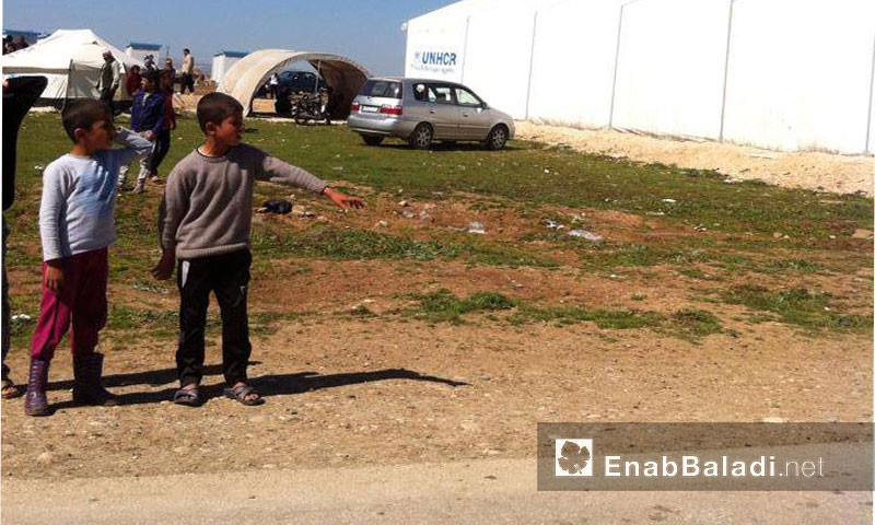 مخيم روج في الحسكة - تموز 2016 (عنب بلدي)