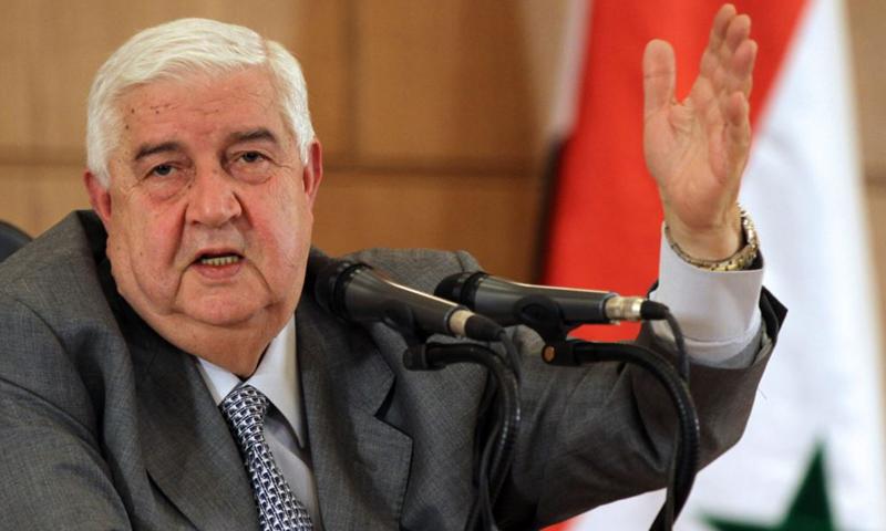 وزير الخارجية السوري وليد المعلم (انترنت)