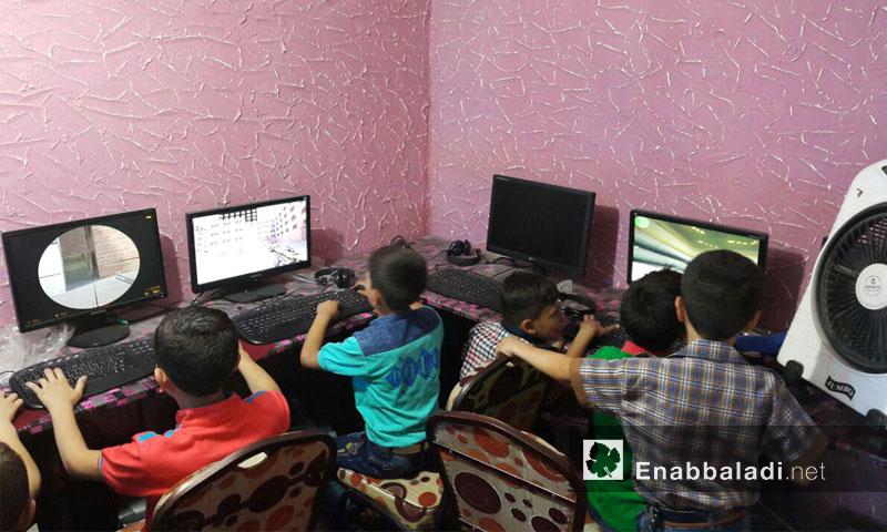 """""""طيور الجنة"""".. قبو لألعاب العيد في الغوطة الشرقية- الخميس 7 تموز (عنب بلدي)"""