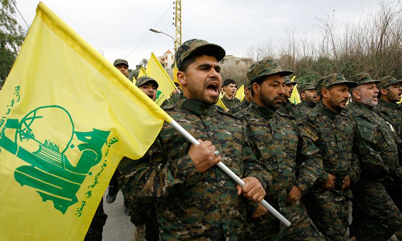 مقاتلون من حزب الله اللبناني (انترنت)