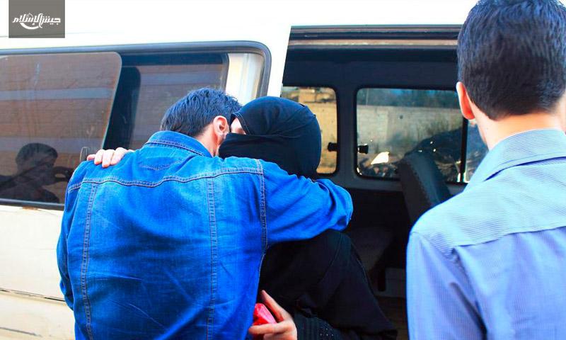 المعتقلة فاديا القطيفاني وعائلتها - الأربعاء 20 تموز (جيش الإسلام)
