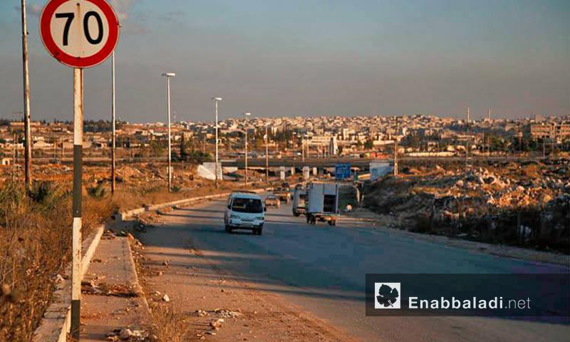 أرشيفية- طريق الكاستيلو في مدينة حلب (عنب بلدي)