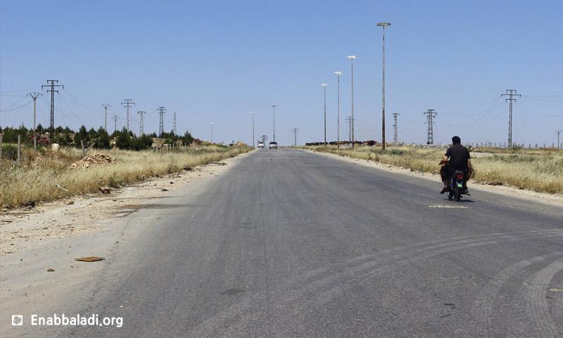طريق الكاستيلو في حلب - أيار 2016 (أرشيف عنب بلدي)