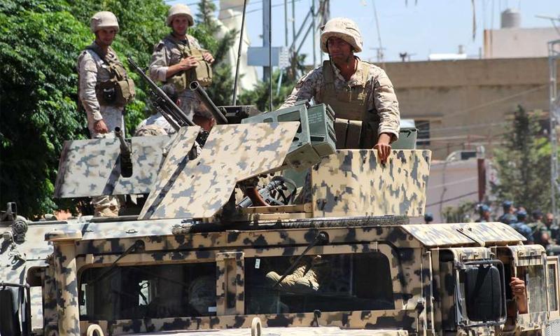 عربة للجيش اللبناني (إنترنت)