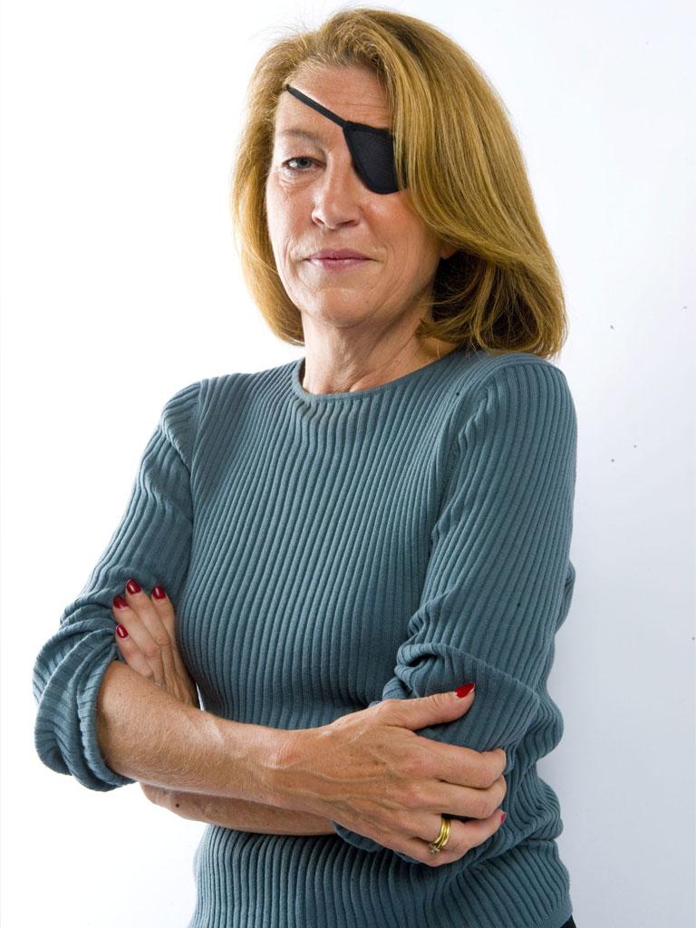 الصحفية الأمريكية، ماري كولفن (إنترنت)