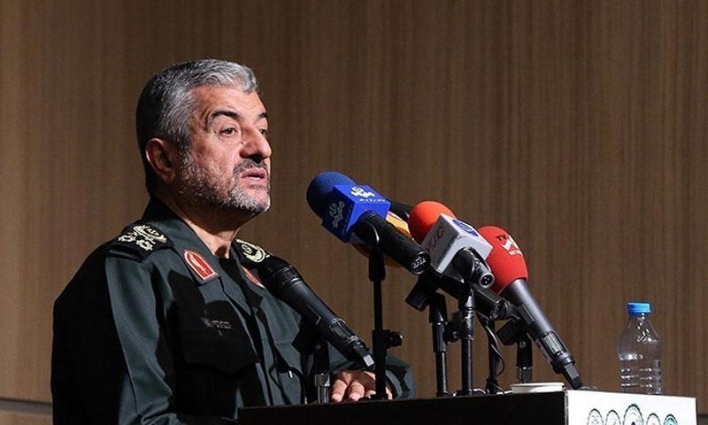 """اللواء محمد علي جعفري- القائد العام لـ """"الحرس الثوري"""" الإيراني (وكالة تسنيم)"""