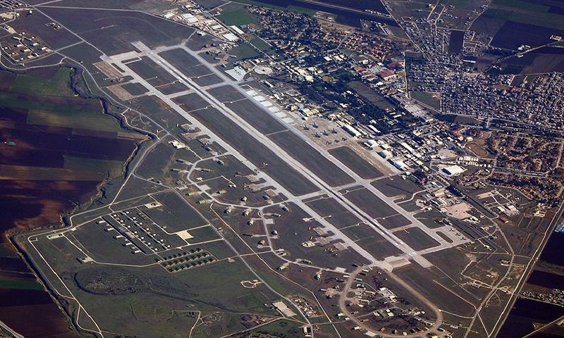 قاعدة انجرليك الجوية في تركيا (غوغل)
