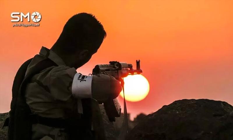 مقاتل في الجبهة الجنوبية التابعة للجيش الحر في درعا (الهيئة السورية للإعلام)