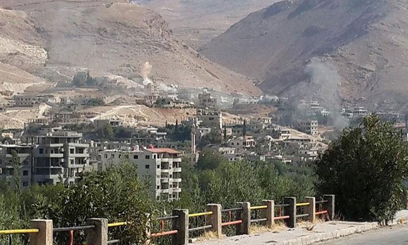 أرشيفية- قرى وادي بردى في ريف دمشق الشمالي الغربي (فيس بوك)