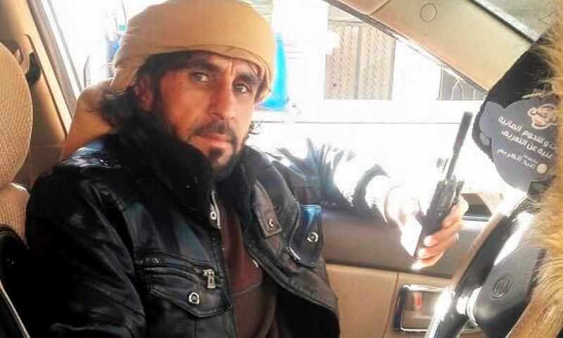 القيادي مجيد حسين العيد (فيس بوك)