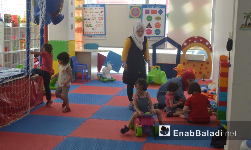 مركز صغارنا كبارنا في مدينة أنطاكية التركية - الخميس 18 آب (عنب بلدي)