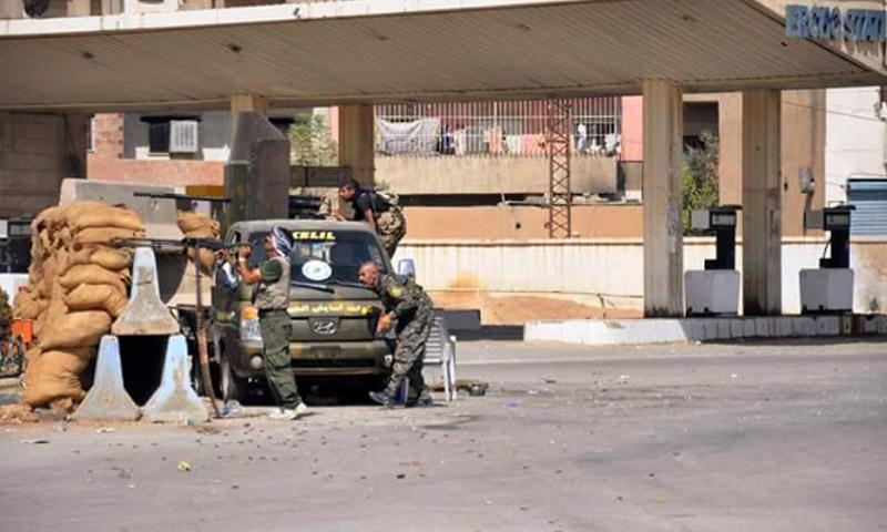 """قوات """"أسايش"""" في الحسكة - الجمعة 19 آب (تويتر)"""