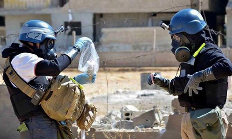 تعبيرية: لجنة الأمم المتحدة ومنظمة الأسلحة الكيميائية في سوريا - 2015 (إنترنت)