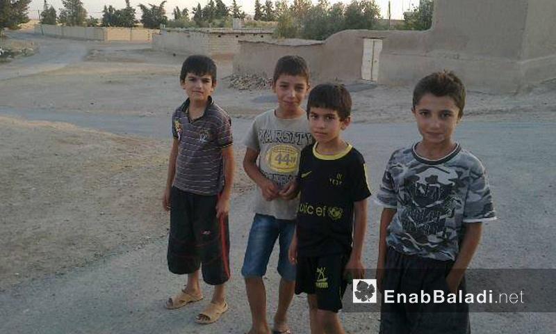 أطفال في ريف الحسكة - 2016 (عنب بلدي)