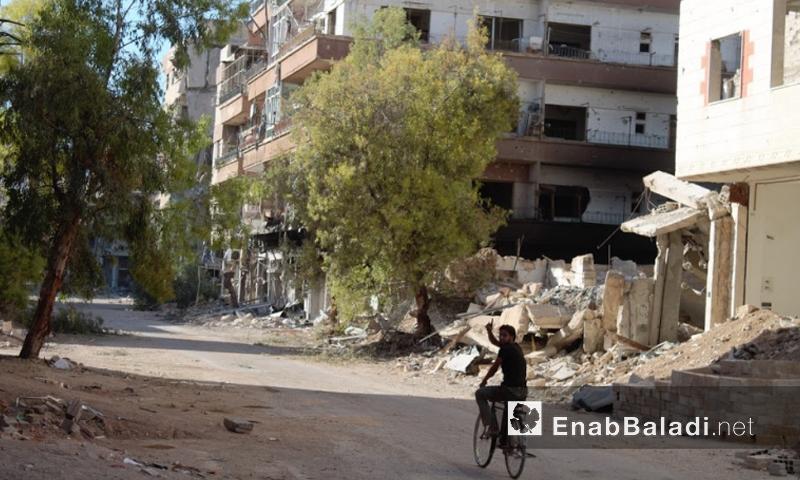 مدينة داريا 22 تموز (أرشيف عنب بلدي)