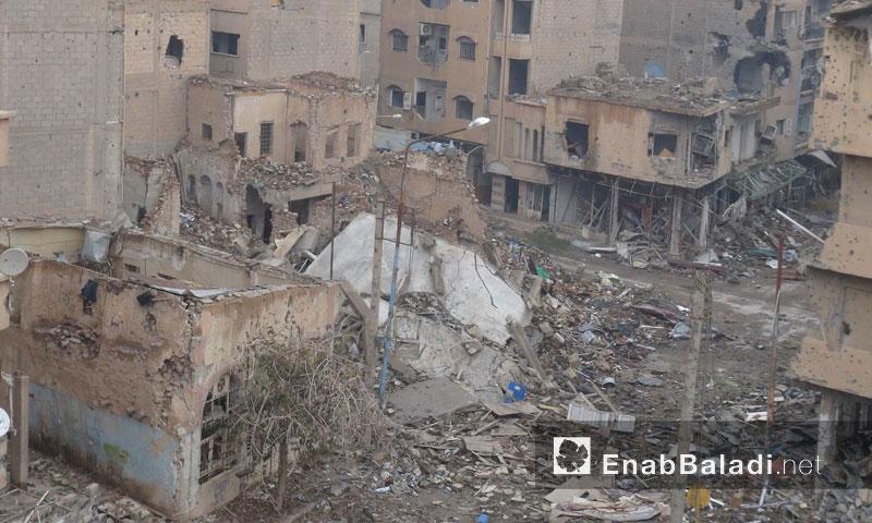 حي الجبيلة في مدينة دير الزور - 2013 (أرشيف عنب بلدي