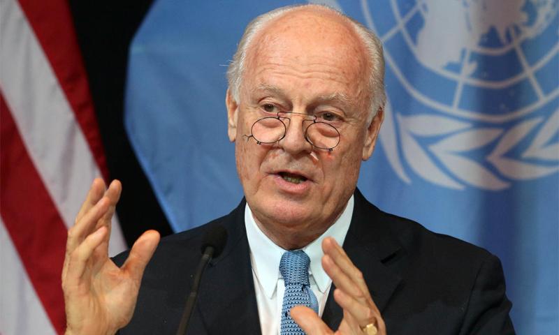 مبعوث الأمم المتحدة الخاص إلى سوريا، ستيفان دي ميستورا (إنترنت)