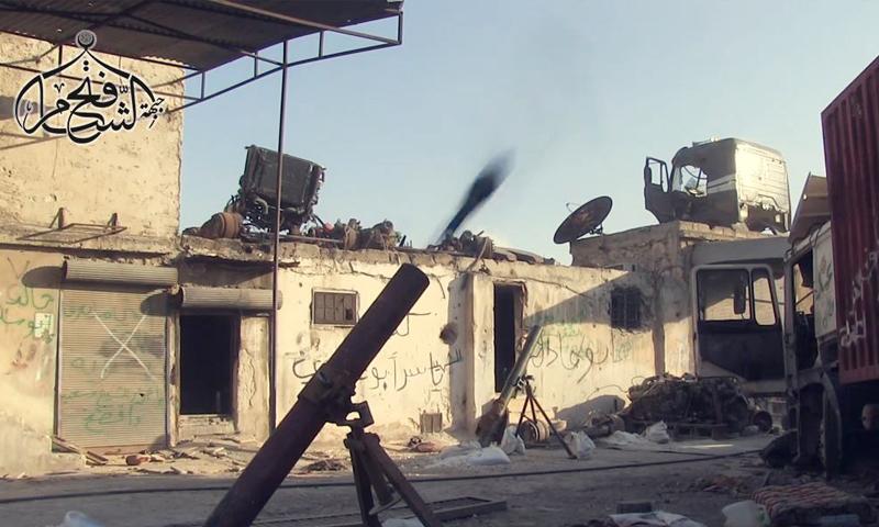 """""""جيش الفتح"""" يستهدف مواقع قوات الأسد في الراموسة بحلب- الثلاثاء 2 آب (فتح الشام)"""