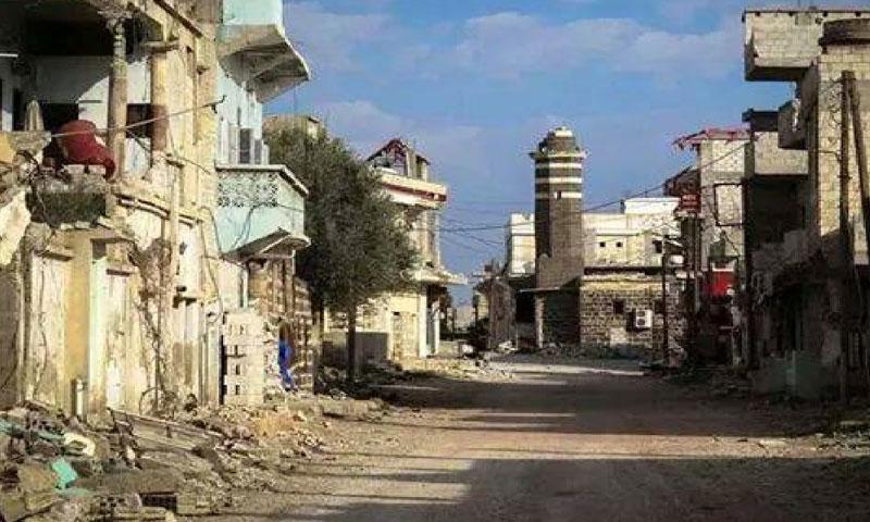 أرشيفية- مدينة الشيخ مسكين في درعا