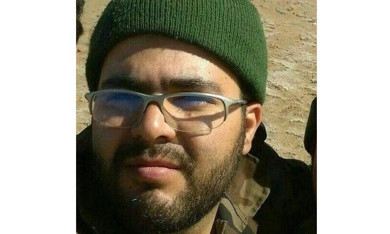 الطبيب الإيراني محمد حسن قاسمي- قتل خلال معارك حلب (تسنيم)