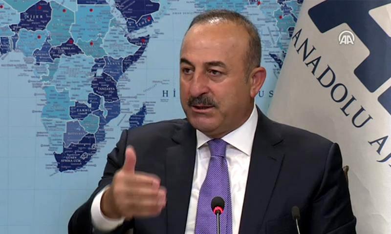 وزير الخارجية التركي، مولود جاويش أوغلو (الأناضول)