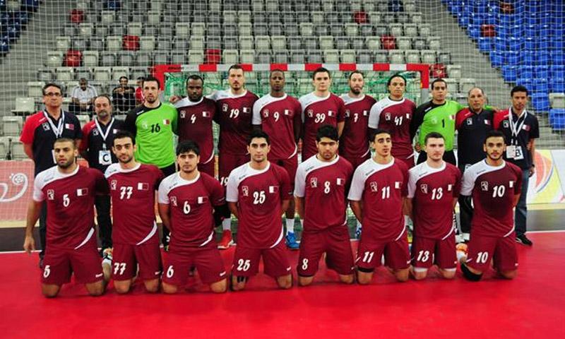 منتخب قطر لكرة اليد (إنترنت)