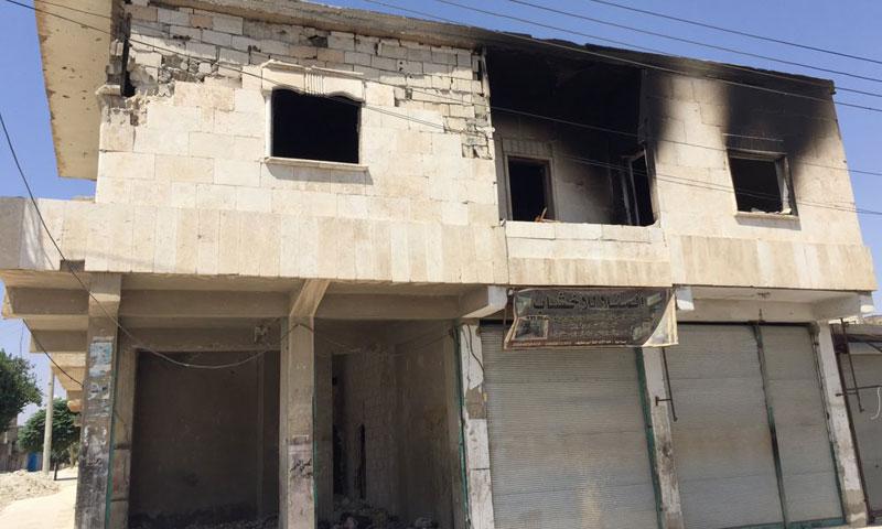 أضرار مادية خلّفتها معارك منبج (المجلس العسري في منبج)