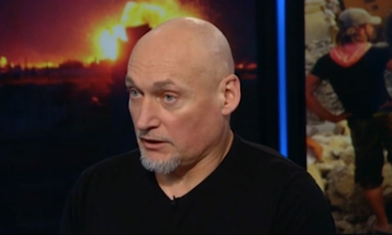 الصحفي النرويجي بول ريستايل (CNN)