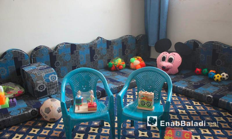 """معهد """"المميزون"""" في معرة النعماة بريف إدلب - الاثنين 15 آب (عنب بلدي)"""