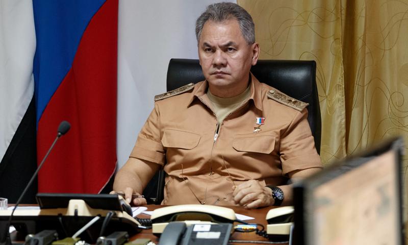 وزير الدفاع الروسي، سيرغي شويغو (REUTERS)