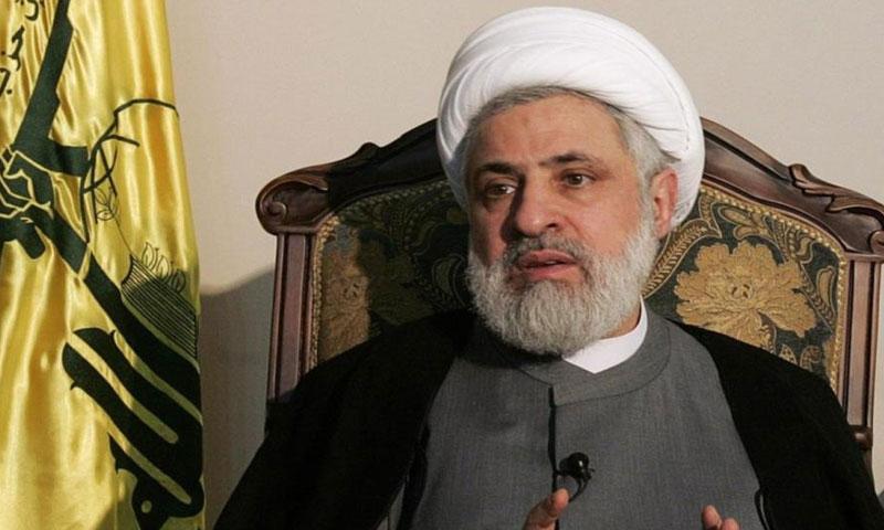 """نعيم قاسم- نائب أمين عام """"حزب الله"""" اللبناني (إنترنت)"""