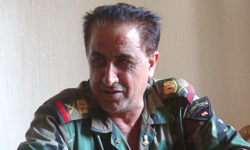 """اللواء زيد صالح- رئيس """"اللجنة الأمنية والعسكرية"""" في حلب (تويتر)"""